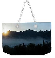 Desert Inversion Sunrise Weekender Tote Bag