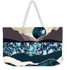 Desert Lake Weekender Tote Bag
