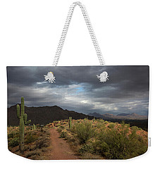 Desert Light And Beauty Weekender Tote Bag by Sue Cullumber