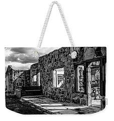 Desert Lodge Bw Weekender Tote Bag
