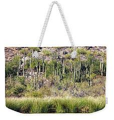 Desert Meets Water Weekender Tote Bag