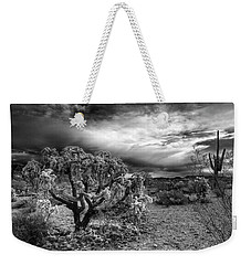 Desert Morning Weekender Tote Bag