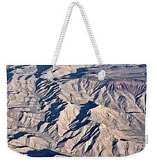 Desert Mountain Road Weekender Tote Bag by Linda Phelps