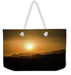 Desert Mountain Sunset Weekender Tote Bag