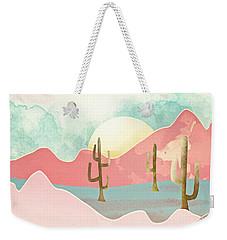 Desert Mountains Weekender Tote Bag by Spacefrog Designs