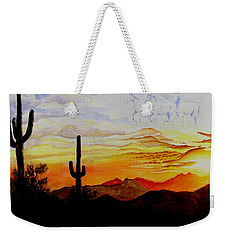 Desert Mustangs Weekender Tote Bag by Jimmy Smith