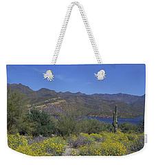 Desert Oasis Weekender Tote Bag