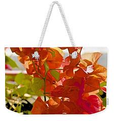 Desert Orange Weekender Tote Bag