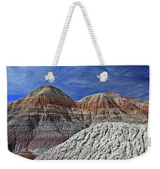 Weekender Tote Bag featuring the photograph Desert Pastels by Gary Kaylor