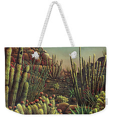 Desert Potpourri  Weekender Tote Bag by James Larkin