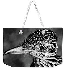 Desert Predator, Black And White Weekender Tote Bag