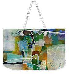 Desert Pueblo  Weekender Tote Bag by Hailey E Herrera