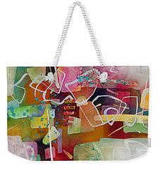 Desert Pueblo 2 Weekender Tote Bag by Hailey E Herrera