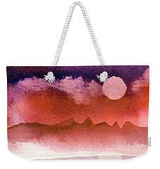 Desert Reflection Weekender Tote Bag