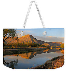 Desert Reflection Weekender Tote Bag