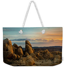 Desert Rocks Weekender Tote Bag by Ed Clark