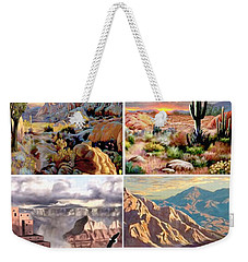 Desert Scape Gallery Weekender Tote Bag by Ron Chambers