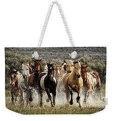 Desert Showers Weekender Tote Bag by Joan Davis