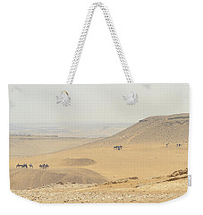 Weekender Tote Bag featuring the photograph Desert by Silvia Bruno