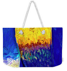 Weekender Tote Bag featuring the photograph Desert Sky 1 by Paul Wear