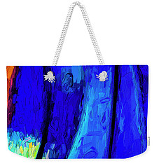 Weekender Tote Bag featuring the photograph Desert Sky 2 by Paul Wear