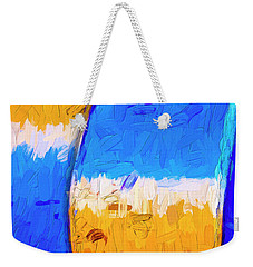 Weekender Tote Bag featuring the photograph Desert Sky 3 by Paul Wear