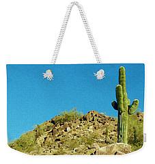 Desert Sky Weekender Tote Bag by Judi Saunders