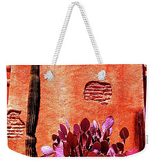 Weekender Tote Bag featuring the photograph Desert Solace by Michelle Dallocchio