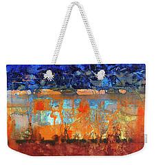 Desert Strata Weekender Tote Bag
