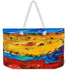 Desert Stream Weekender Tote Bag