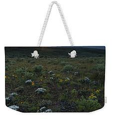 Desert Sunburst Weekender Tote Bag