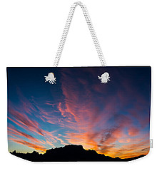 Desert Sunrise Weekender Tote Bag by Mary Hone