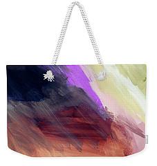 Desert Sunset 2- Abstract Art By Linda Woods Weekender Tote Bag