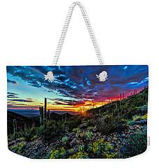 Desert Sunset Hdr 01 Weekender Tote Bag
