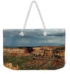 Desert Thunderstorm Weekender Tote Bag