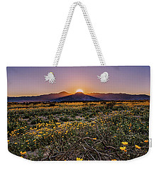 Weekender Tote Bag featuring the photograph Desert Vitality by Ryan Weddle