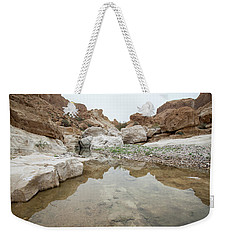 Desert Water Weekender Tote Bag by Yoel Koskas