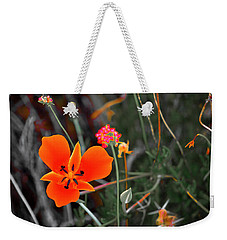 Desert Wildflowers Weekender Tote Bag
