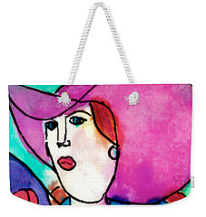 Design Lady Weekender Tote Bag