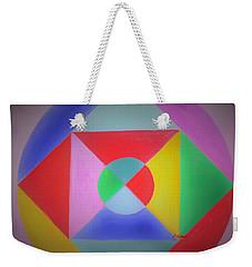 Design Number One Weekender Tote Bag by Denise Fulmer