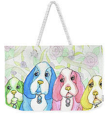Designer Dogs Weekender Tote Bag