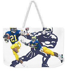 Desmond Howard - Hello Heisman Weekender Tote Bag