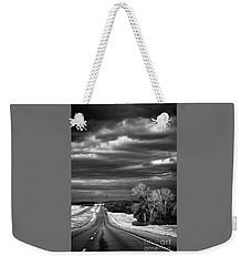 Desolate Highway Weekender Tote Bag