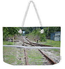 Desolate Rails Weekender Tote Bag