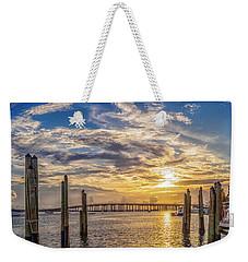 Destin Harbor #1 Weekender Tote Bag
