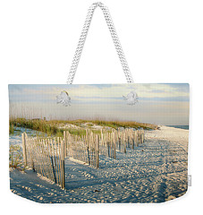 Destination Serenity Weekender Tote Bag by Sennie Pierson
