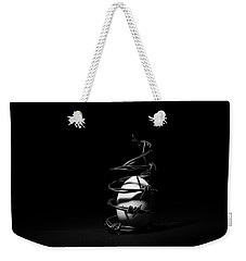 Destined To Be A Prisoner For Life - The Dark Side Of It All Weekender Tote Bag
