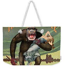 Destroy This Mad Brute - Restored Vintage Poster Weekender Tote Bag