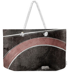 Weekender Tote Bag featuring the photograph Detail Of A Vintage Car. by Andrey  Godyaykin