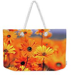 Details In Orange Weekender Tote Bag